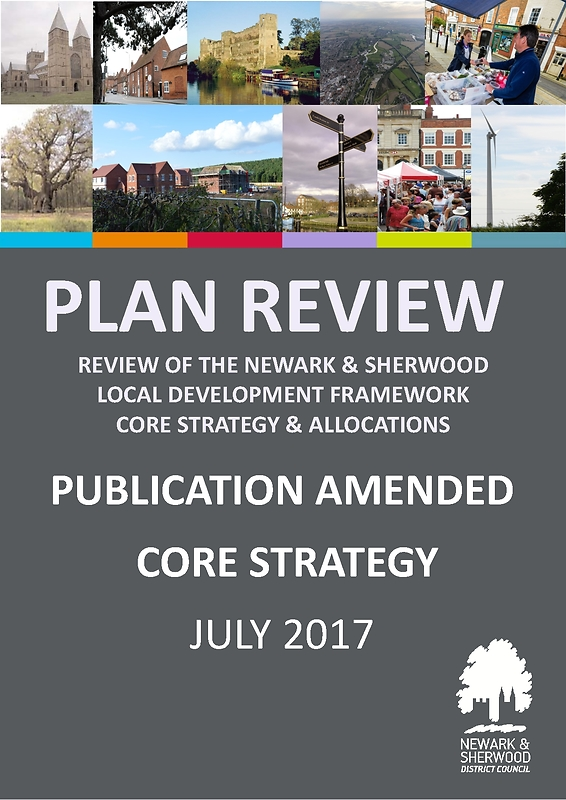 Plan Review Core Strategy Front Cover - Pub Stage